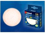 LED-GX53-10W/WW/GX53/FR PLZ01WH Лампа светодиодная, матовая. Теплый белый свет (3000K).
