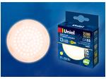 LED-GX53-13W/WW/GX53/FR PLZ01WH Лампа светодиодная, матовая. Теплый белый свет (3000K).