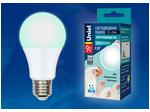 LED-A60-9W/SCBG/E27/FR/DIM IP65 PLO65WH Лампа светодиодная диммируемая для бройлеров. Спектр синий и зеленый.