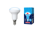 LED-R50-7W/NW/E14/FR/NR Лампа светодиодная. Форма Рефлектор, матовая. Серия Norma. Белый свет (4000K).