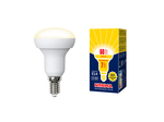 LED-R50-7W/WW/E14/FR/NR Лампа светодиодная. Форма Рефлектор, матовая. Серия Norma. Теплый белый свет (3000K).