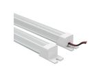 Лента в PVC-профиле PROFILED 400012 12V 9.6W 120LED 3000K с прямоугольным рассеивателем, материал пластик, 1шт=1м