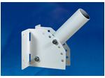 UFV-C01/48-250 GREY Кронштейн универсальный для консольного светильника, 250мм. Регулируемый угол. Диаметр 48мм. Серый.