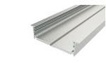 Профиль врезной широкий алюминиевый LC-LPV-32120-2 Anod