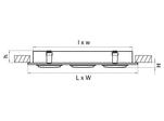 Светильник SINGO X3 MR16/HP16 БЕЛЫЙ (011613)