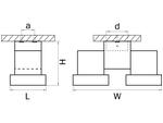 Светильник ILLUMO HP16X2 ЧЕРНЫЙ (051037)