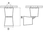 Светильник ROTONDA HP16 ЧЕРНЫЙ ХРОМ (214458)