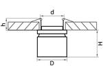 Светильник FORTE INCA LED 26W 1950LM 30G СЕРЫЙ 4000K (214829)