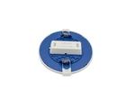 Светодиодная панель встраиваемая круглая 220В, 10Вт, 800Лм, CRI:80Ra, Ф120/85,алюминиевый корпус, встроенный изолированный драйвер, 2700К