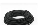 Ретро-провод круглый ПВХ 2х1,5мм, черный