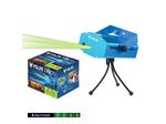 UDL-Q350 4P/G BLUE Лазерный проектор. 4 типа проекции. Микрофон. Регулировка скорости вращения лазера и частоты пульсации