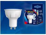 LED-JCDR 6W/NW/GU10/FR/DIM PLP01WH Лампа светодиодная, диммируемая. Форма «JCDR», матовая. Серия ЯРКАЯ. Белый свет (4000K).