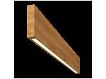Светильник Wooden 20 из массива (дуб), 800*100 мм, 3000К, 8Вт, W20-DUB-80-10