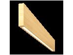 Светильник Wooden 20 из массива (ясень белый), 800*100 мм, 3000К, 8Вт, W20-YASBEL-80-10