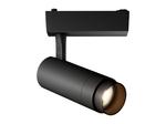 Трековый светильник Geniled Track Classic Zoom 30Вт 3000К Чёрный с адаптером для однофазного шинопровода
