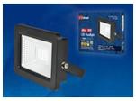 ULF-F19-20W/4000K IP65 175-250В BLACK Прожектор светодиодный. Белый свет (4000K). Корпус черный.