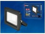 ULF-F19-30W/4000K IP65 175-250В BLACK Прожектор светодиодный. Белый свет (4000K). Корпус черный.