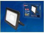 ULF-F19-50W/4000K IP65 175-250В BLACK Прожектор светодиодный. Белый свет (4000K). Корпус черный.
