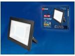 ULF-F19-70W/4000K IP65 175-250В BLACK Прожектор светодиодный. Белый свет (4000K). Корпус черный.