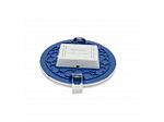 Светодиодная панель встраиваемая круглая 220В, 15Вт, CRI:80Ra, 1200Лм, Ф145/129,  алюминиевый корпус, изолированный драйвер,4500К