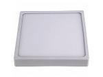 Светодиодная панель накладная квадратная 220В, 15Вт, CRI:80Ra, 1200Лм, 145*145 мм,  алюминиевый корпус, встроенный изолированный драйвер, 4500К