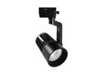 ULB-Q274 40W-4000К BLACK Светильник-прожектор светодиодный трековый. 3600 Лм. Белый свет 4000К. Корпус черный