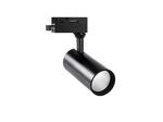 ULB-Q276 15W-4000К BLACK Светильник-прожектор трековый. 1350 Лм. Белый свет 4000К. Корпус черный