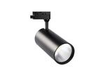 ULB-Q276 32W-3000К BLACK Светильник-прожектор светодиодный трековый. 3000 Лм. Теплый белый свет 3000К. Корпус черный
