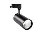 ULB-Q276 40W-3000К BLACK Светильник-прожектор светодиодный трековый. 3800 Лм. Теплый белый свет 3000К. Корпус черный
