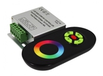 Контроллер LN-RF5B-Sens Black (12-24V,180-360W) (ARL, IP20 Металл, 1 год)