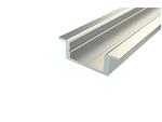 Алюминиевый Профиль для светодиодной ленты LC-LPV-0722-2 Anod
