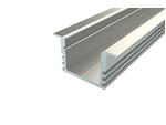 Светодиодный профиль для ленты, алюминиевый LC-LPV-1222-2 Anod