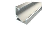 Угловой алюминиевый Профиль для светодиодной ленты LC-LPU-1717-2 Anod