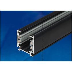 UBX-AS4 BLACK 200 POLYBAG Шинопровод осветительный, тип А. Трехфазный. Цвет — черный. Длина 2 м. Упаковка — полиэтиленовый пакет.