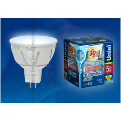LED-JCDR-5W/NW/GU5.3/FR/DIM  Диммируемая светодиодная лампа. Серия Palazzo. Белый свет