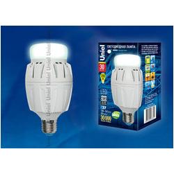 LED-M88-50W/NW/E27/FR ALV01WH Лампа светодиодная с матовым рассеивателем. Материал корпуса алюминий. Цвет свечения белый. Серия Venturo.