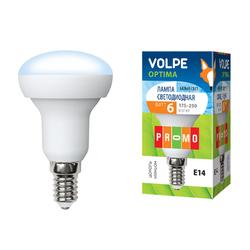 LED-R50-6W/NW/E14/FR/O Форма Рефлектор, матовая. Белый свет. Серия Optima.