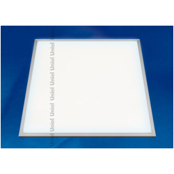ULP-6060-40/NW/DIM PROM-3 SILVER Встраиваемый потолочный светодиодный светильник диммируемый 40Вт 600*600*10 мм. Белый свет. С источником питания.