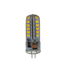 Лампа светодиодная LED-JC-standard 5Вт 12В G4 3000К 450Лм. Теплый белый