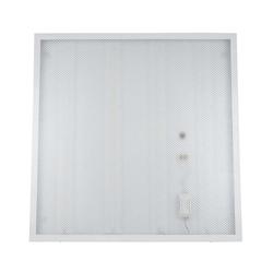 ULP-Q104 6060-36W/DW WHITE Светильник светодиодный потолочный накладной. Дневной свет.  Призма Встроенный и/п.
