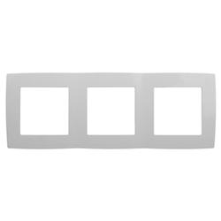 Рамка на 3 поста, белый, 12-5003-01