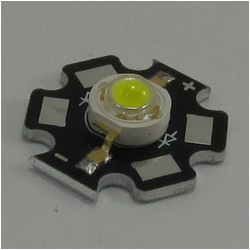 Мощный светодиод ARPL-Star-3W-BCX45HB White (ARL, STAR type)