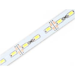ULS-L20X-5630-72LED/m-12mm-IP20-DC12V-36W/m-2х1M-DW Светодиодная лента с жестким основанием на самоклеящейся основе. Набор 2шт. по 1м. Дневной белый свет.