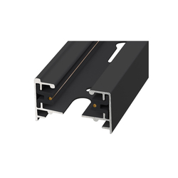 UBX-Q121 KS2 BLACK 100 POLYBAG Шинопровод осветительный, тип К. Однофазный. Черный. Длина 1 м.