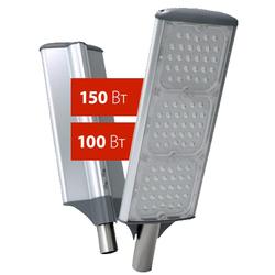 ULV-R71J-150W/NW IP65 SILVER Светодиодный уличный консольный светильник Белый свет (5000K). Угол 50x130 градусов.