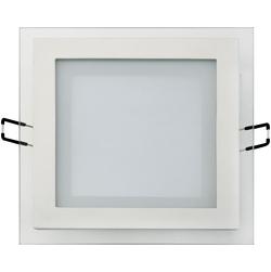 Встраиваемый потолочный светильник 12W 3000К Белый (HL685LG)