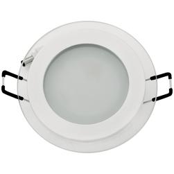 Встраиваемый потолочный светильник 6W 3000К Белый (HL687LG)
