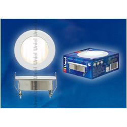 GX53-9/2700/Н5 Белый. Светильник встраиваемый с лампой. IP54