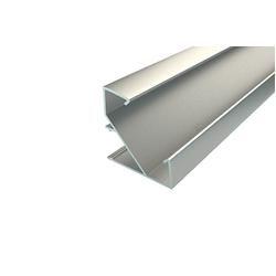 Профиль для светодиодной ленты угловой алюминиевый LC-LPU-3333-2 Anod