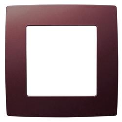 Рамка на 1 пост, бордо, 12-5001-25